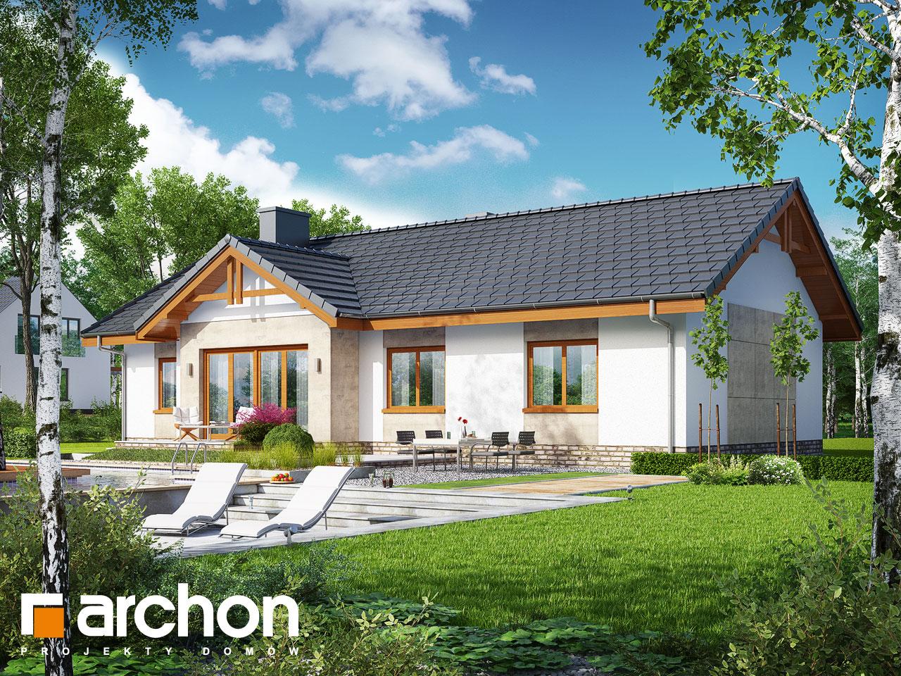 Проект будинку ARCHON+ Будинок в нерінах 4 Вид 2