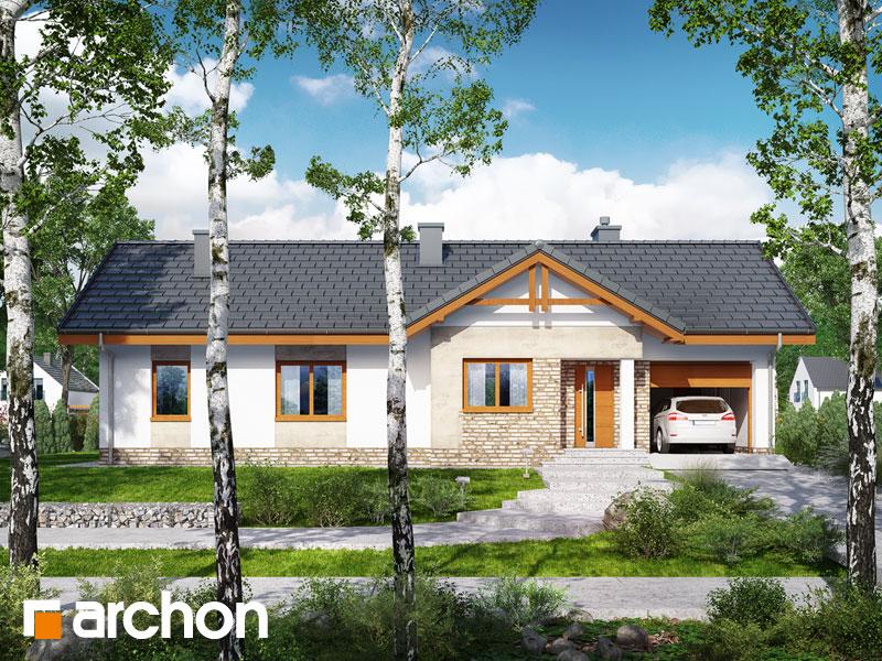 Проект будинку ARCHON+ Будинок в нерінах 4 Вид 1