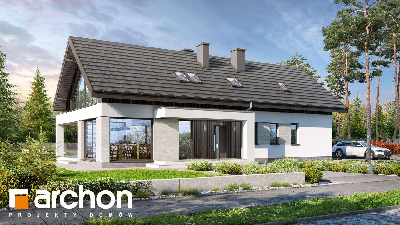 Проект будинку ARCHON+ Будинок в дабеціях (М) Вид 2