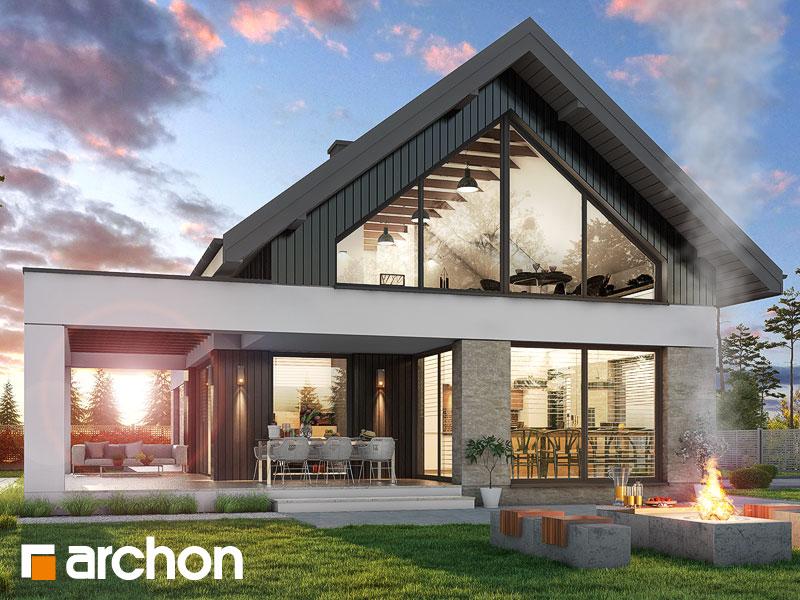 Проект будинку ARCHON+ Будинок в дабеціях (М) Вид 1