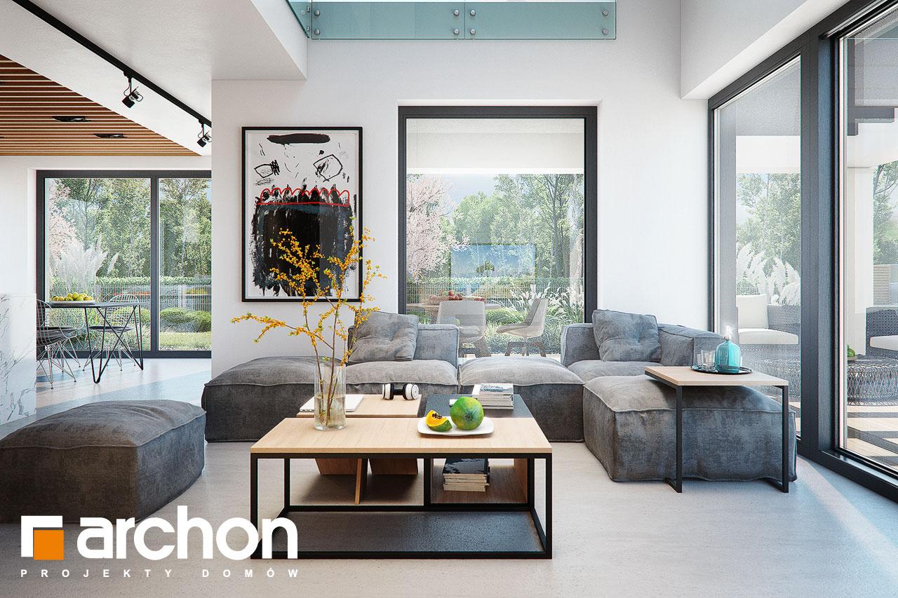 Проект будинку ARCHON+ Будинок в дабеціях (М) денна зона (візуалізація 1 від 1)