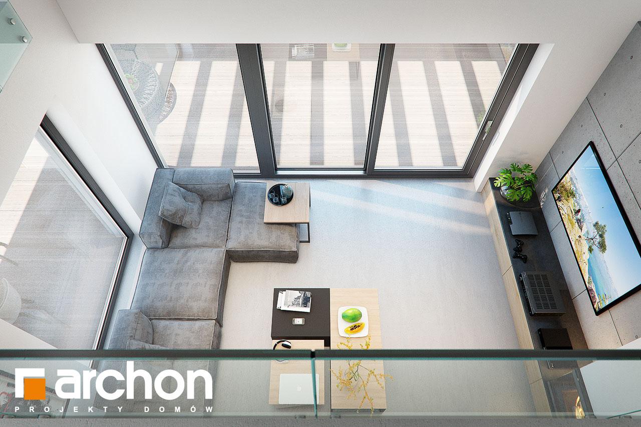 Проект будинку ARCHON+ Будинок в дабеціях (М) денна зона (візуалізація 1 від 7)