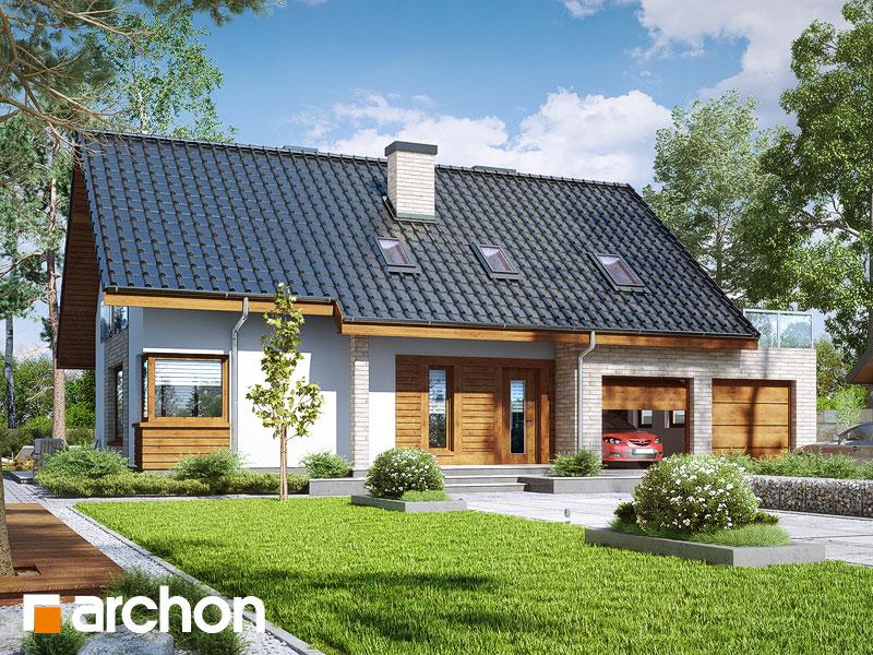 Проект будинку ARCHON+ Будинок в гейджею (Г2А) Вид 1