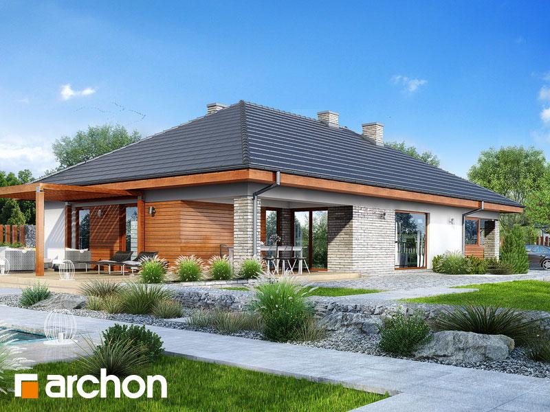 Проект будинку ARCHON+ Будинок в андромедах 2 (Г2А) додаткова візуалізація