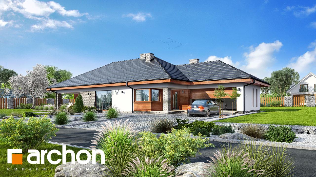 Проект будинку ARCHON+ Будинок в андромедах 2 (Г2А) Вид 2