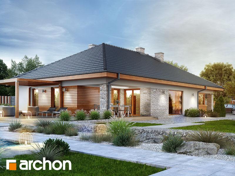Проект будинку ARCHON+ Будинок в андромедах 2 (Г2А) Вид 1