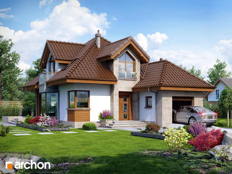 Проект будинку ARCHON+ Будинок в руколі (П) стилізація 3