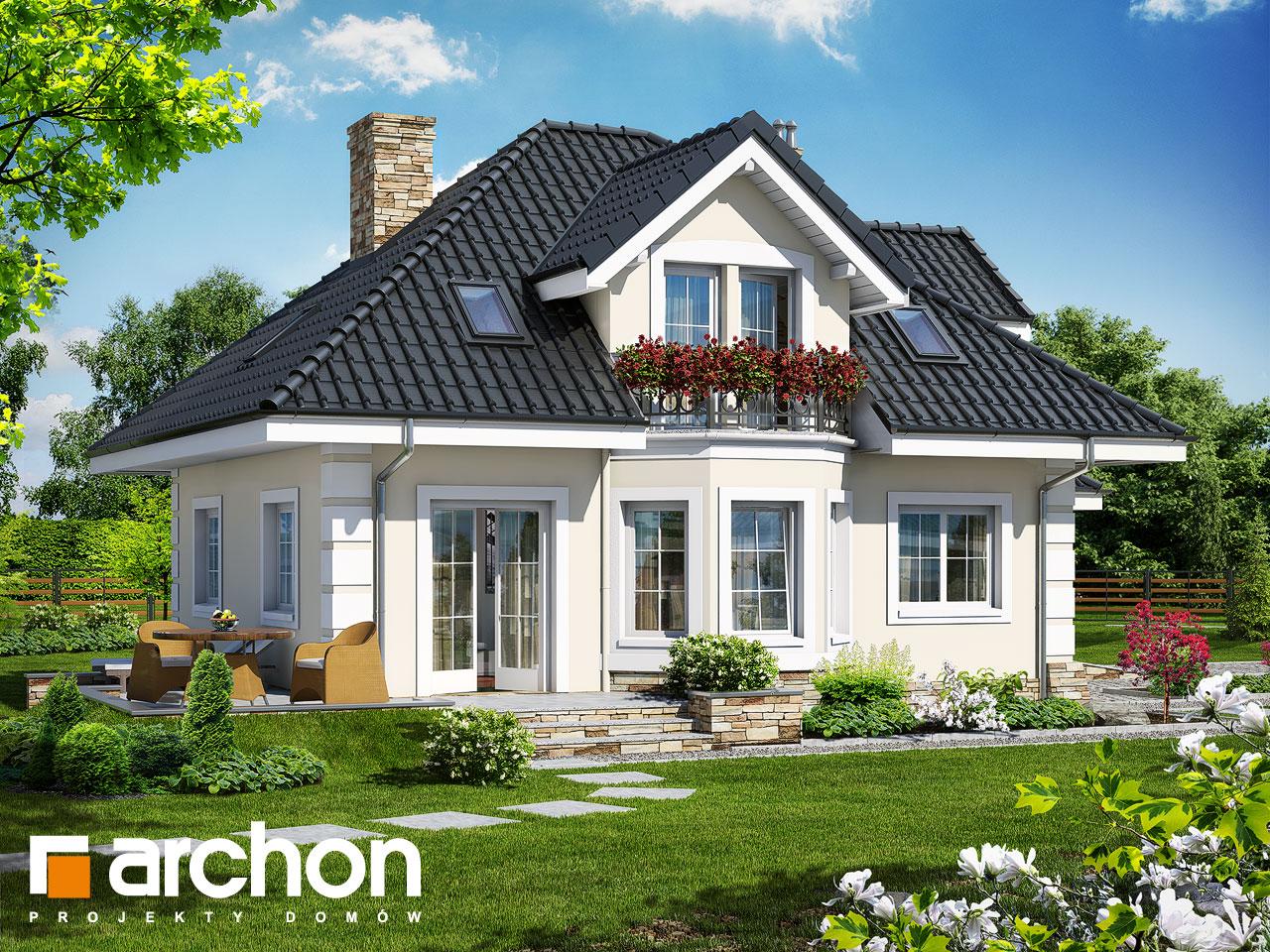 Проект будинку ARCHON+ Будинок в руколі (П) Вид 2