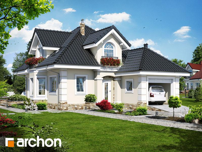 Проект будинку ARCHON+ Будинок в руколі (П) Вид 1