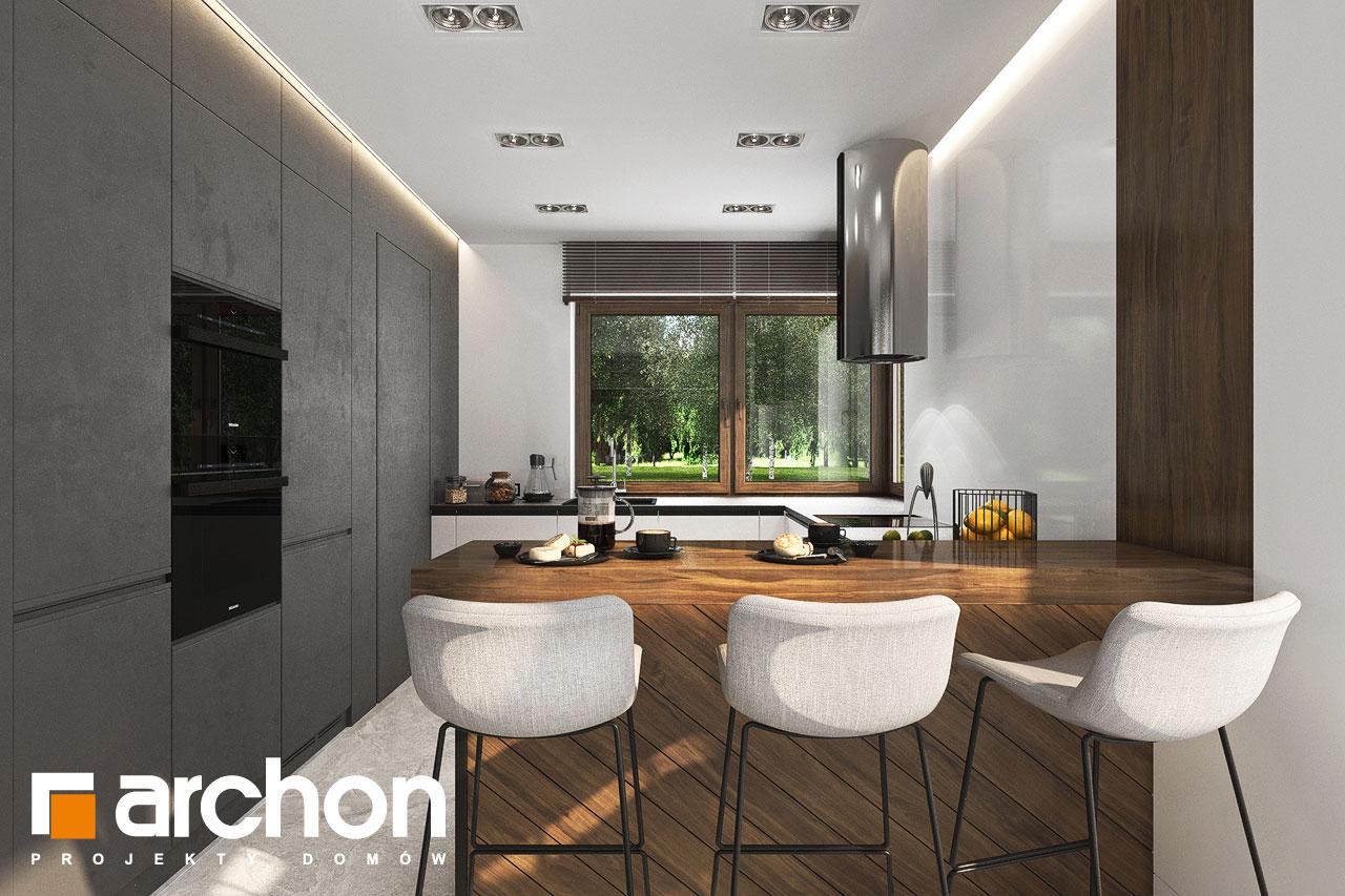 Проект будинку ARCHON+ Вілла Міранда 6 (Г2) візуалізація кухні 1 від 1
