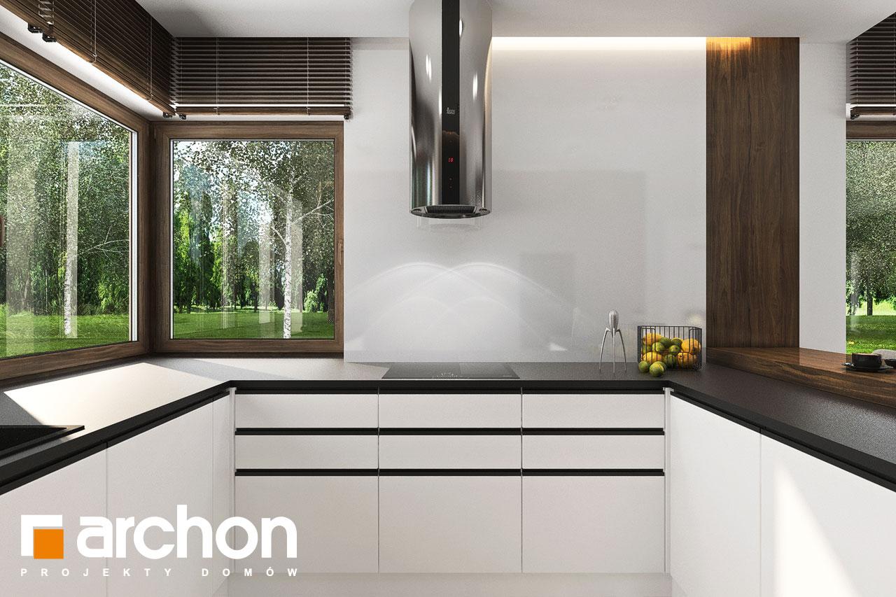 Проект будинку ARCHON+ Вілла Міранда 6 (Г2) візуалізація кухні 1 від 2