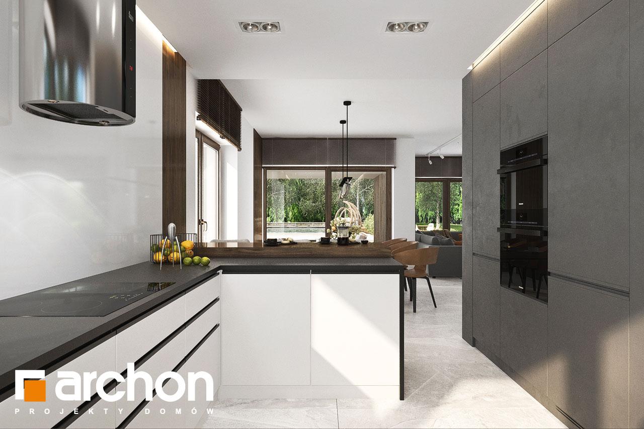 Проект будинку ARCHON+ Вілла Міранда 6 (Г2) візуалізація кухні 1 від 3