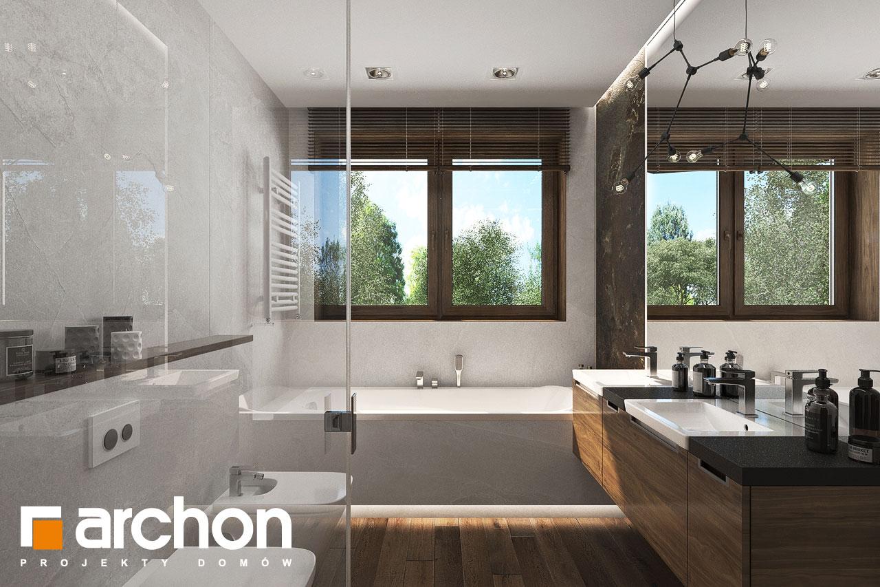 Проект будинку ARCHON+ Вілла Міранда 6 (Г2) візуалізація ванни (візуалізація 3 від 1)