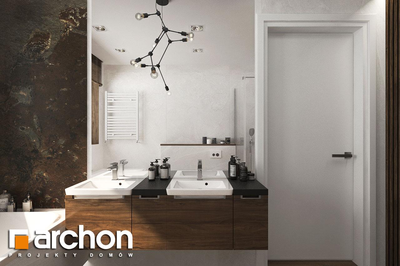 Проект будинку ARCHON+ Вілла Міранда 6 (Г2) візуалізація ванни (візуалізація 3 від 2)