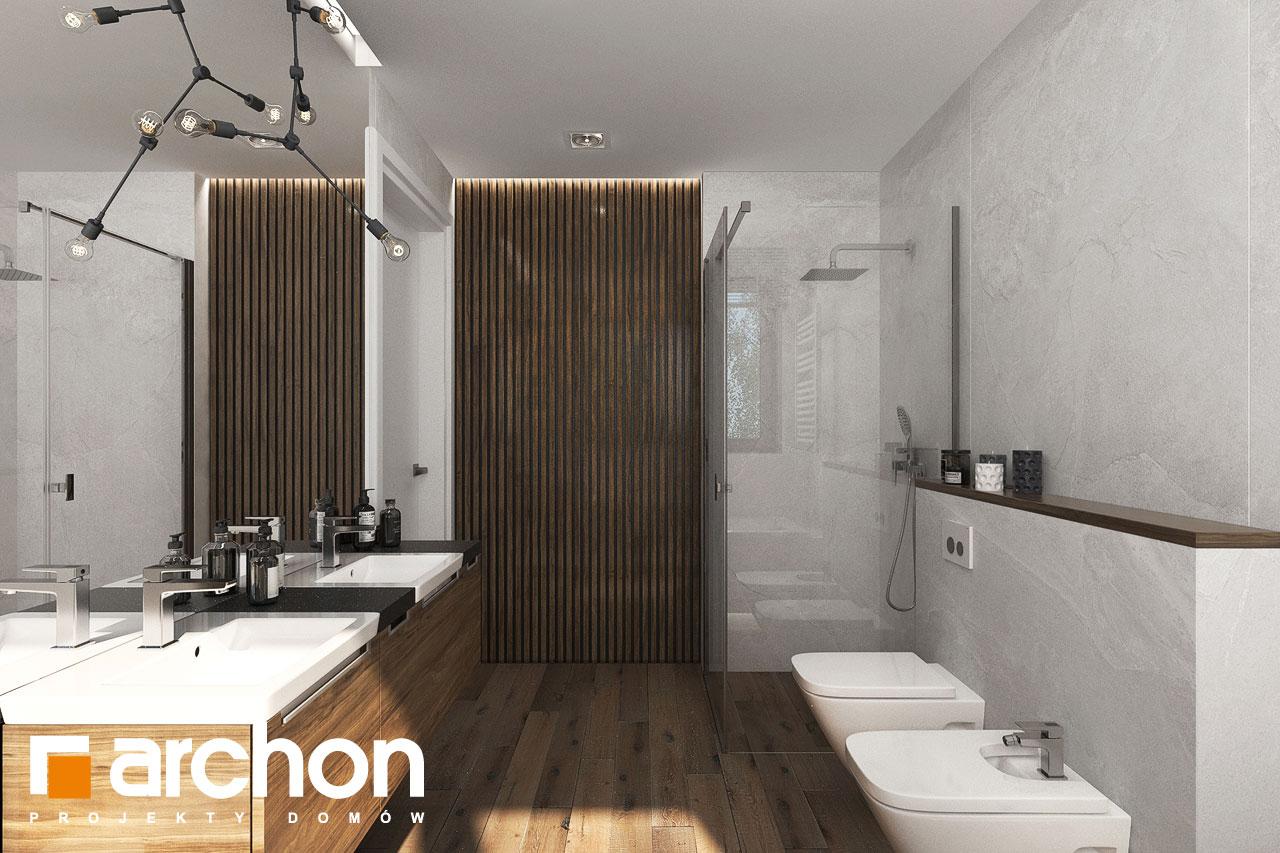 Проект будинку ARCHON+ Вілла Міранда 6 (Г2) візуалізація ванни (візуалізація 3 від 4)