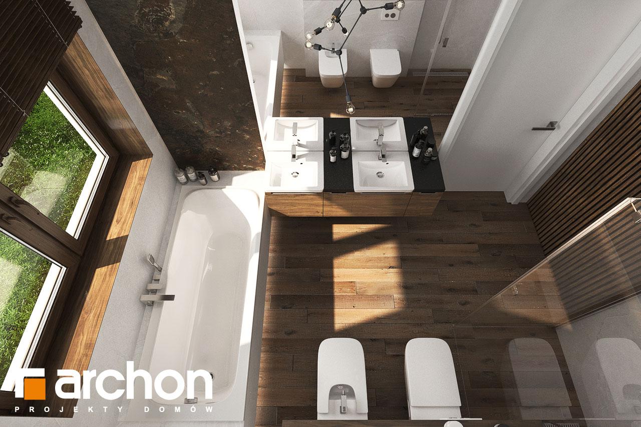 Проект будинку ARCHON+ Вілла Міранда 6 (Г2) візуалізація ванни (візуалізація 3 від 5)