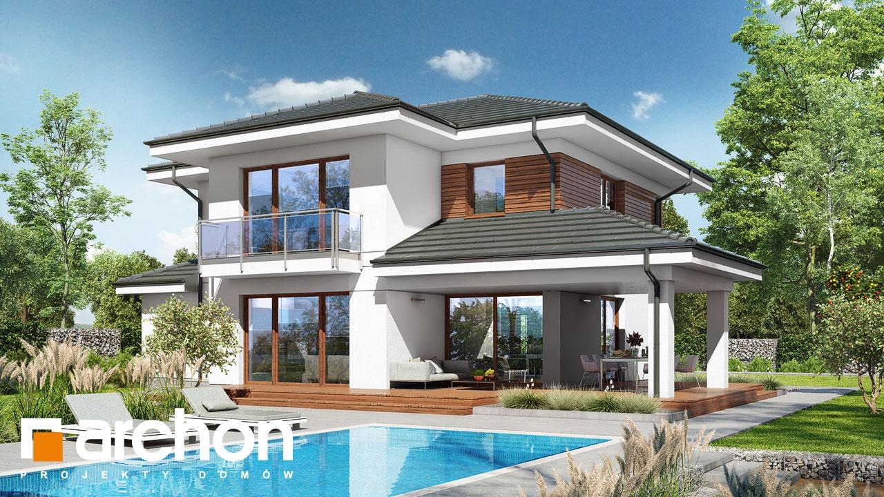 Проект дома ARCHON+ Вилла Миранда 6 (Г2) Вид 2