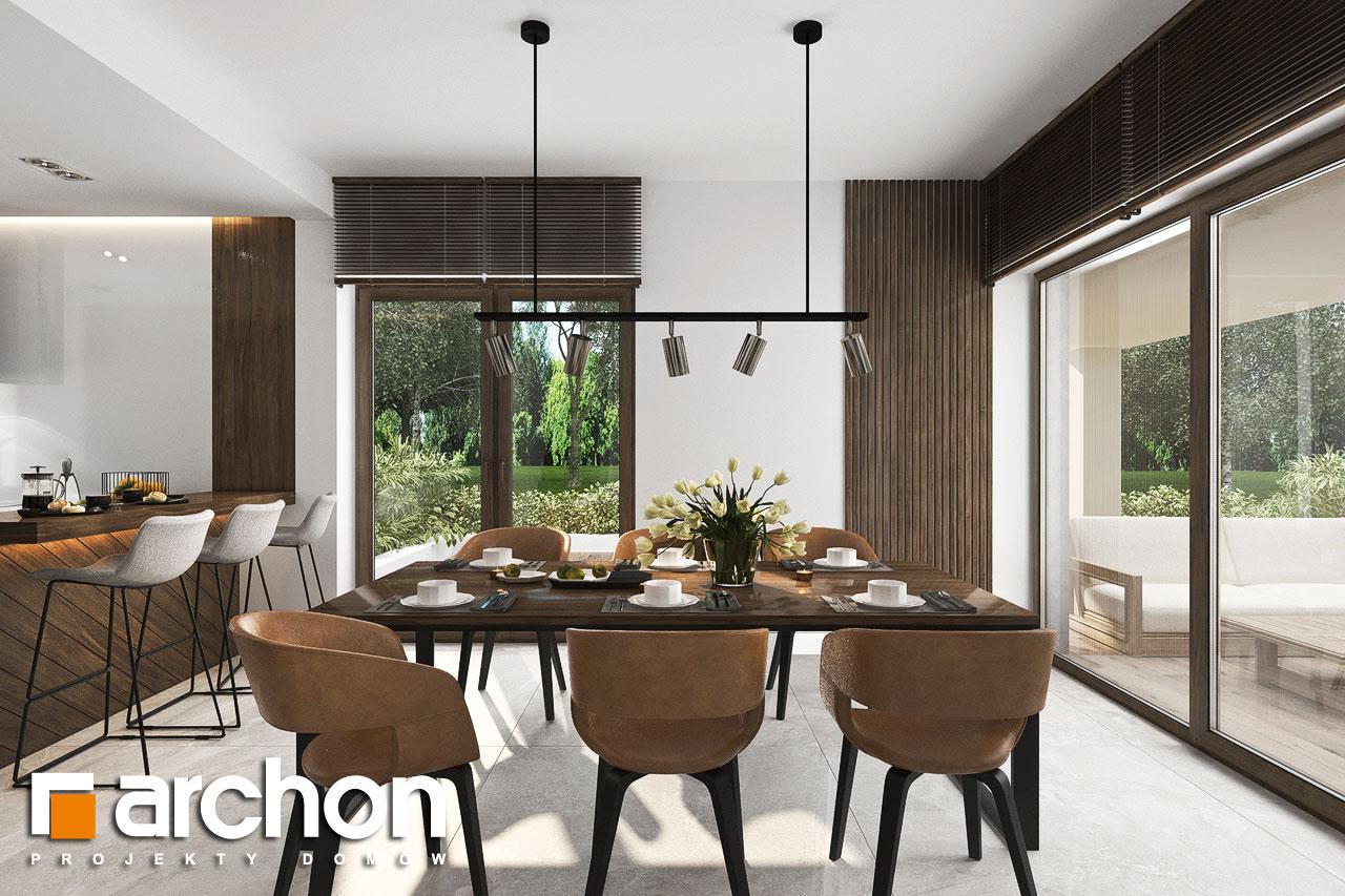Проект будинку ARCHON+ Вілла Міранда 6 (Г2) денна зона (візуалізація 1 від 1)