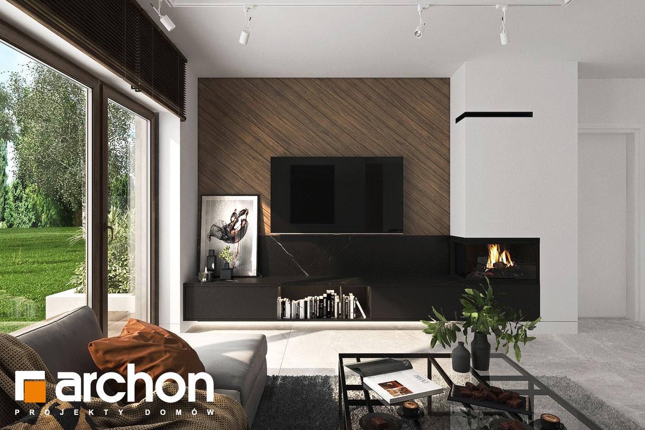 Проект будинку ARCHON+ Вілла Міранда 6 (Г2) денна зона (візуалізація 1 від 2)