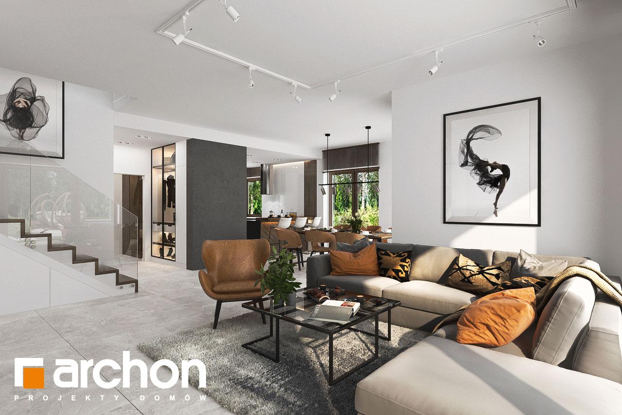 Проект будинку ARCHON+ Вілла Міранда 6 (Г2) денна зона (візуалізація 1 від 5)