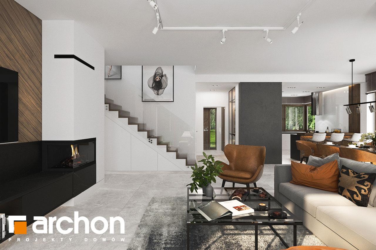 Проект будинку ARCHON+ Вілла Міранда 6 (Г2) денна зона (візуалізація 1 від 6)