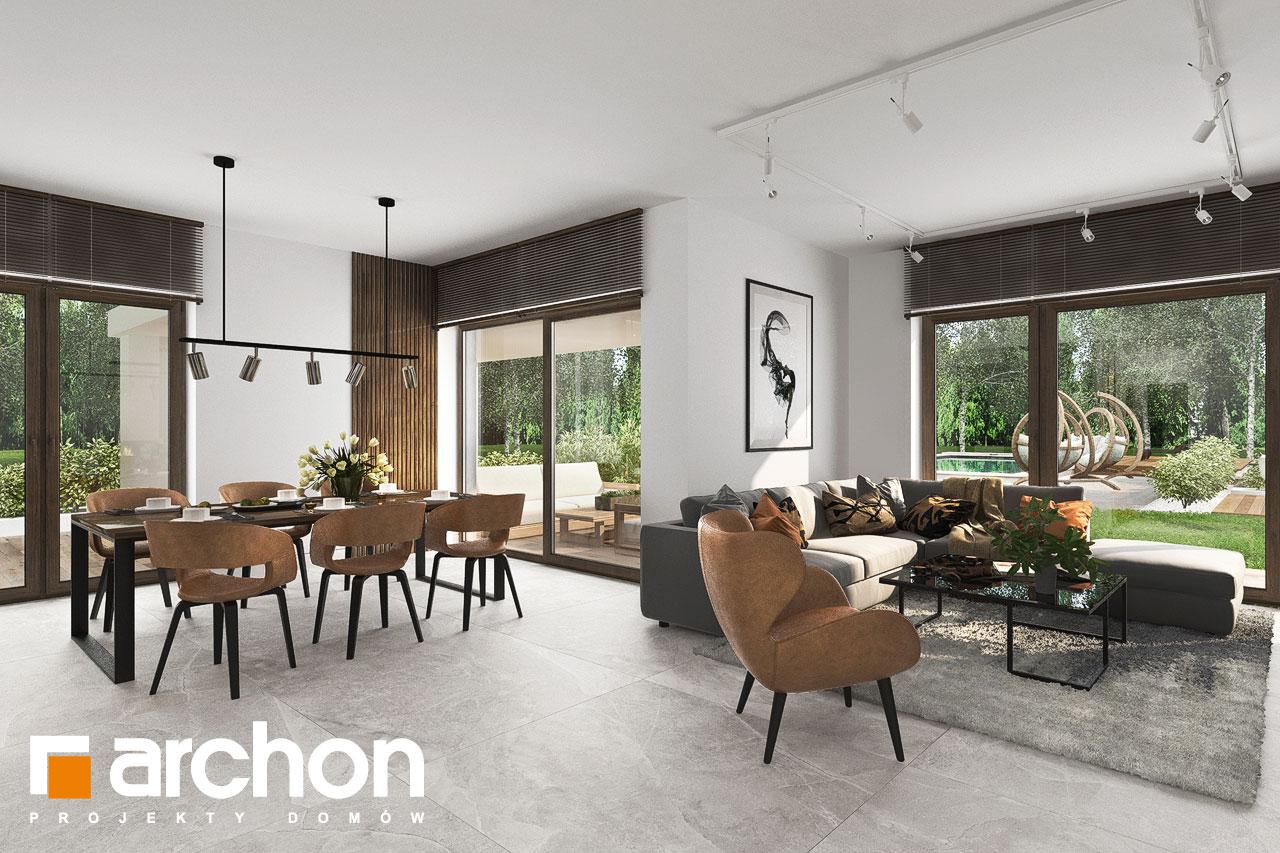Проект будинку ARCHON+ Вілла Міранда 6 (Г2) денна зона (візуалізація 1 від 7)
