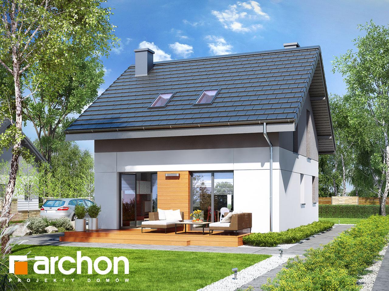 Проект будинку ARCHON+ Будинок в аркадії Вид 2