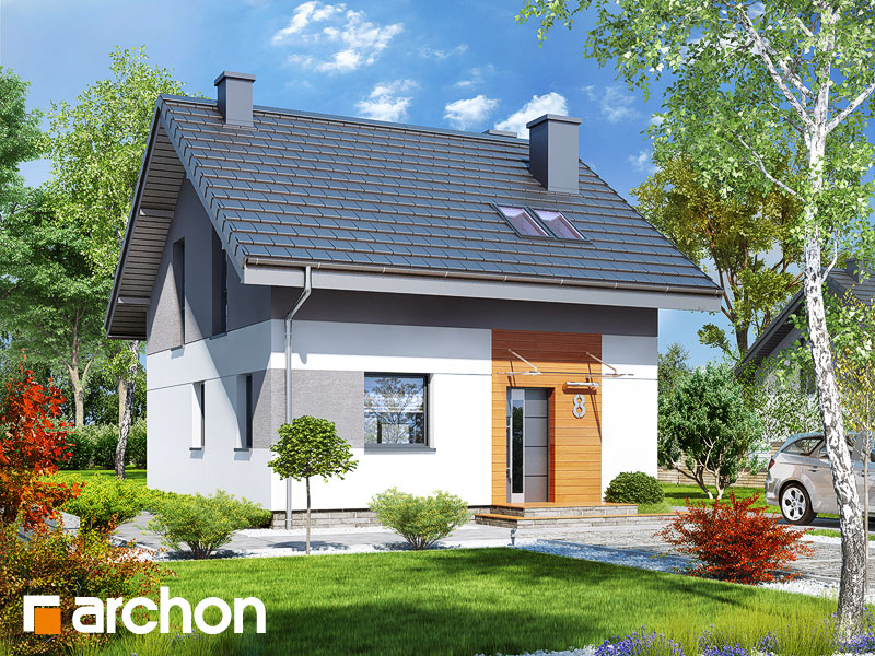 Проект будинку ARCHON+ Будинок в аркадії Вид 1