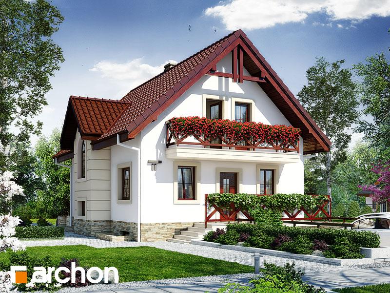 Проект будинку ARCHON+ Будинок в рокітнику Вид 1