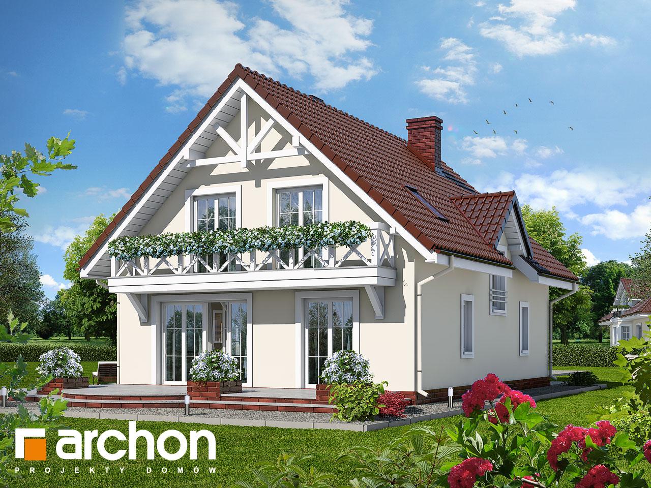 Проект будинку ARCHON+ Будинок під калиною ver.2 Вид 2