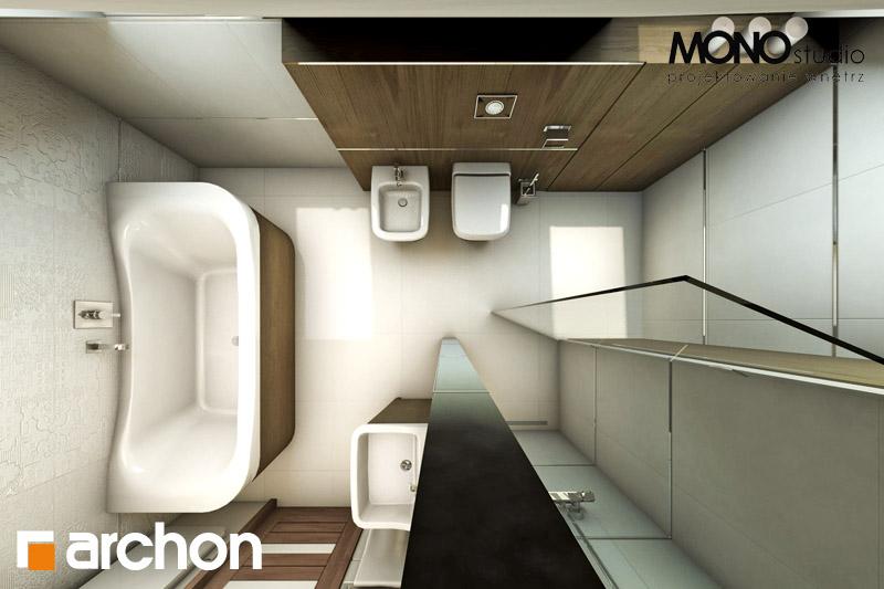 Проект будинку ARCHON+ Будинок в журавках ver.2 візуалізація ванни (візуалізація 1 від 5)