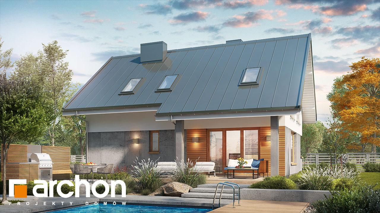 Проект будинку ARCHON+ Будинок в журавках ver.2 стилізація 4