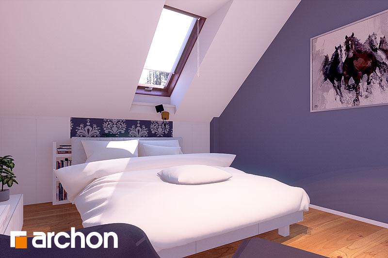 Проект дома ARCHON+ Дом в журавках вер.2 ночная зона (визуализация 1 вид 1)