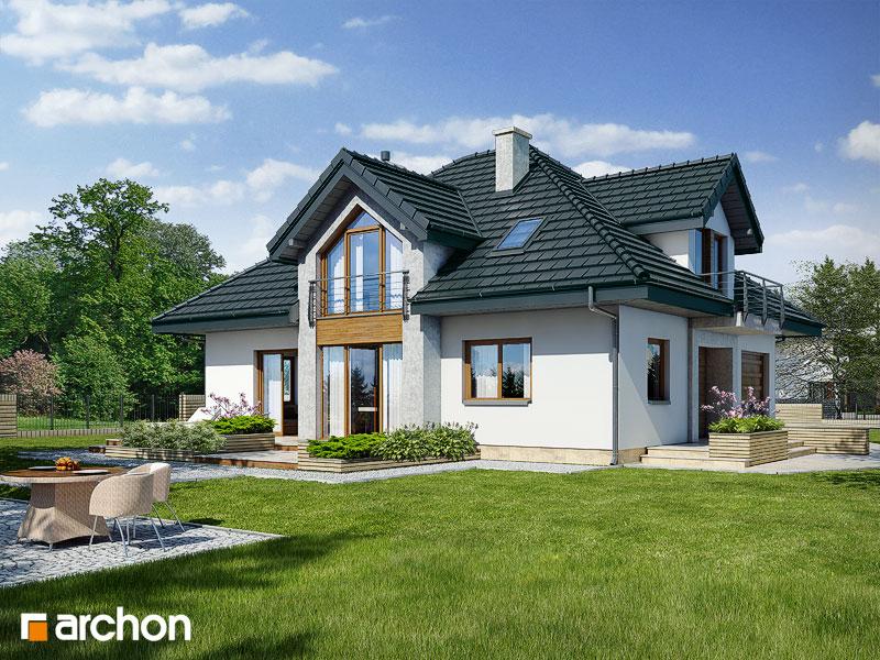 Проект будинку ARCHON+ Будинок в тим'яні (Н) додаткова візуалізація