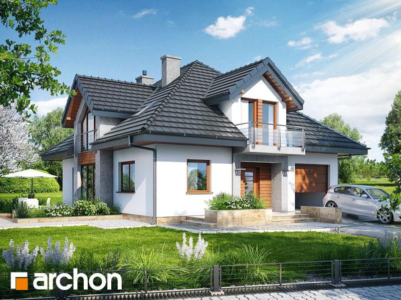 Проект будинку ARCHON+ Будинок в тим'яні (Н) Вид 1