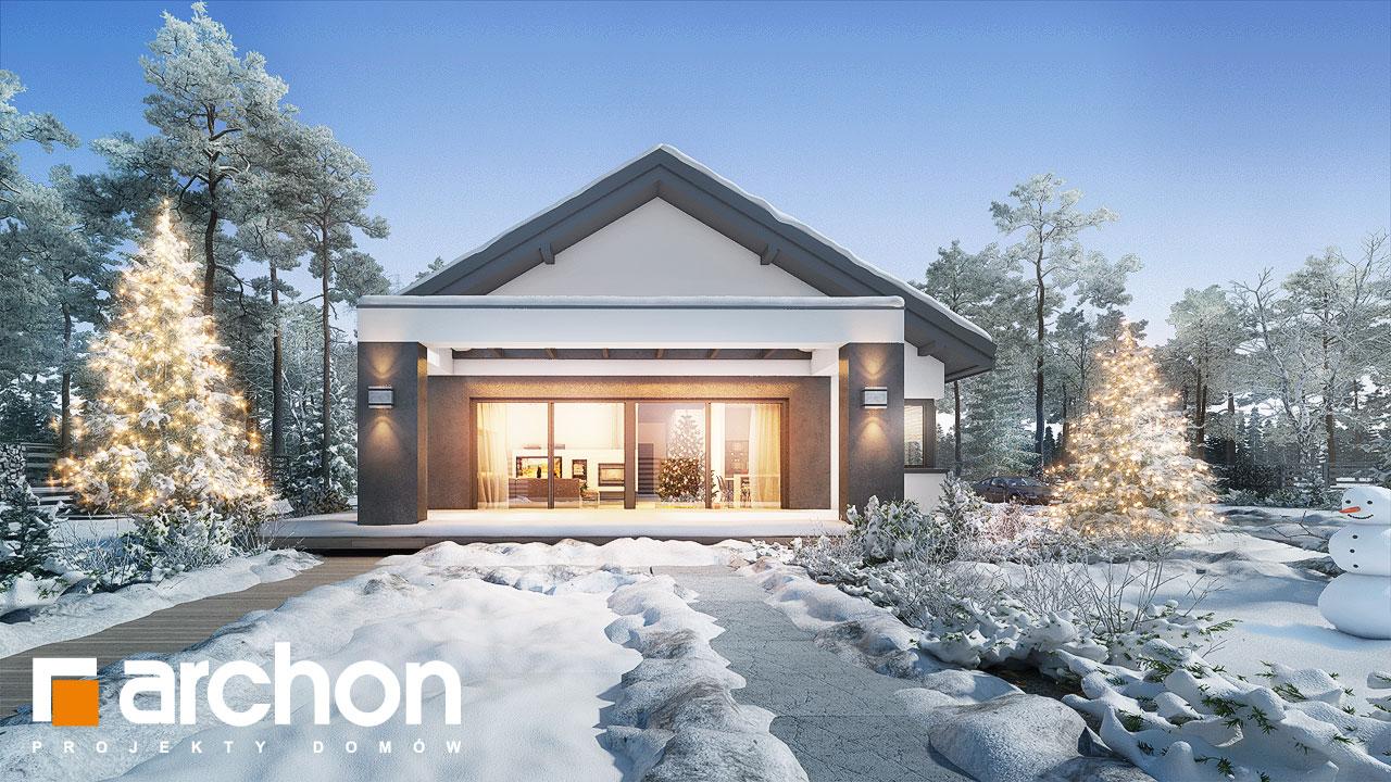 Проект будинку ARCHON+ Будинок в пепероміях 2 додаткова візуалізація