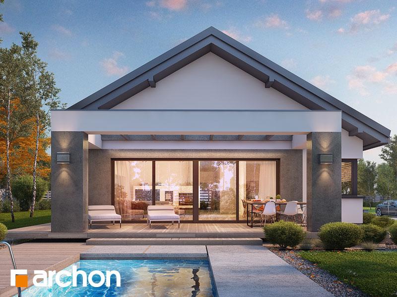 Проект будинку ARCHON+ Будинок в пепероміях 2 Вид 1