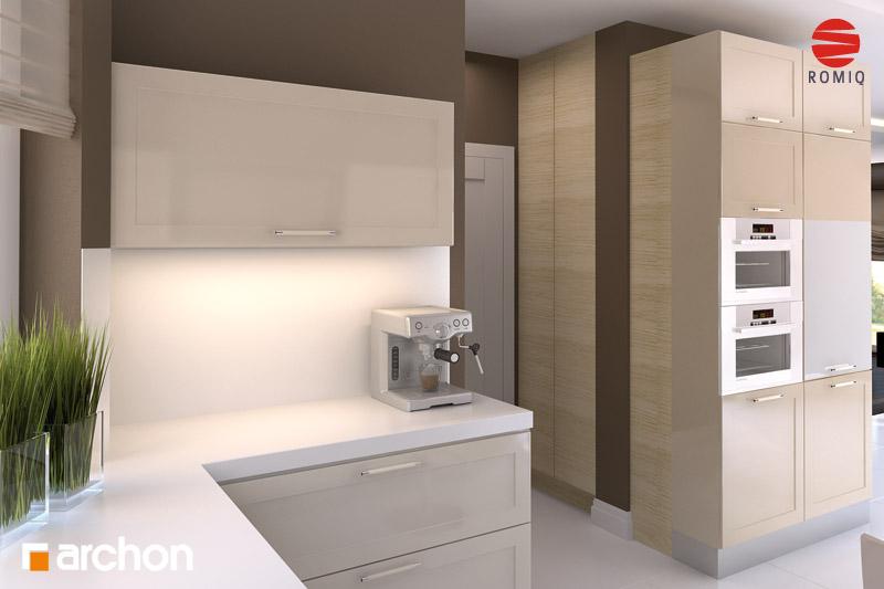 Проект будинку ARCHON+ Будинок в калатеях 2 (П) вер.2 візуалізація кухні 2 від 3