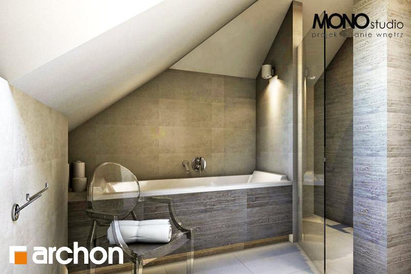 Проект будинку ARCHON+ Будинок в калатеях 2 (П) вер.2 візуалізація ванни (візуалізація 3 від 3)