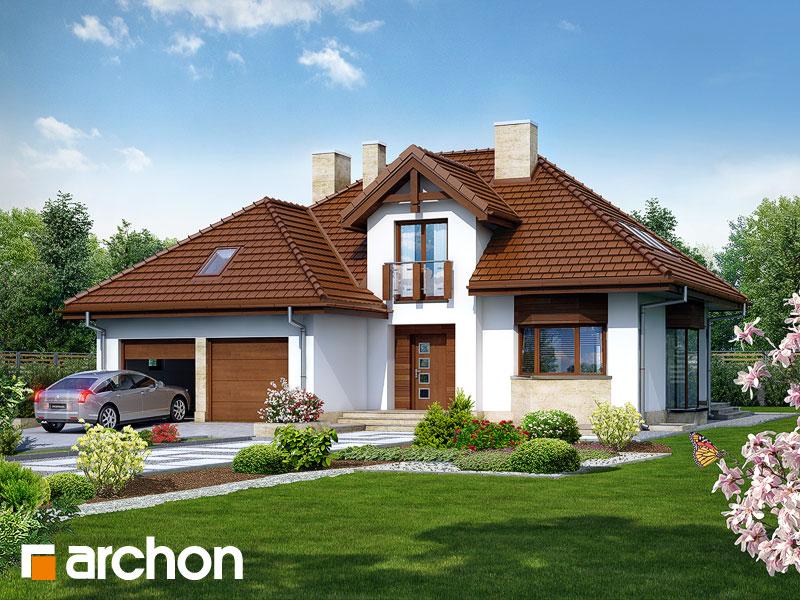 Проект будинку ARCHON+ Будинок в калатеях 2 (П) вер.2 Вид 1