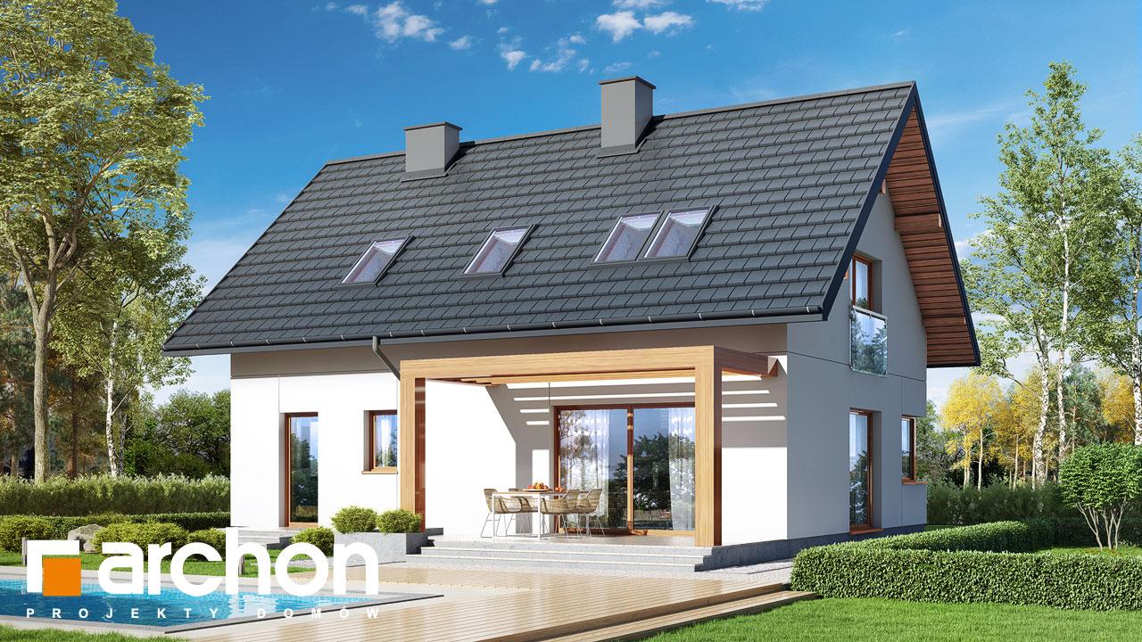Проект будинку ARCHON+ Будинок в люцерні 9 Вид 2