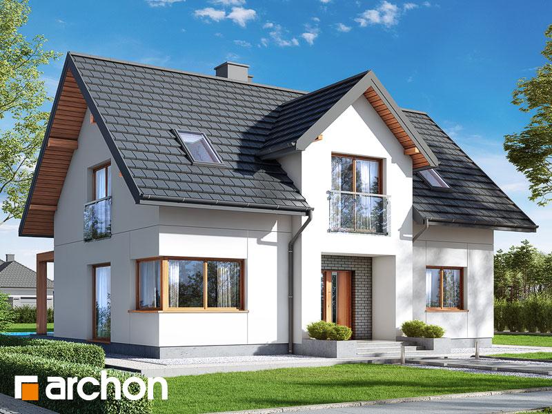 Проект будинку ARCHON+ Будинок в люцерні 9 Вид 1
