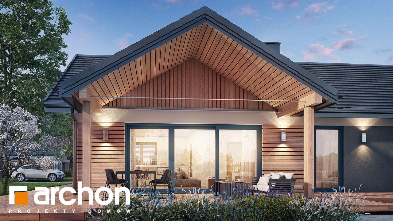 Проект будинку ARCHON+ Будинок в барбарисах 2 (Г2) додаткова візуалізація