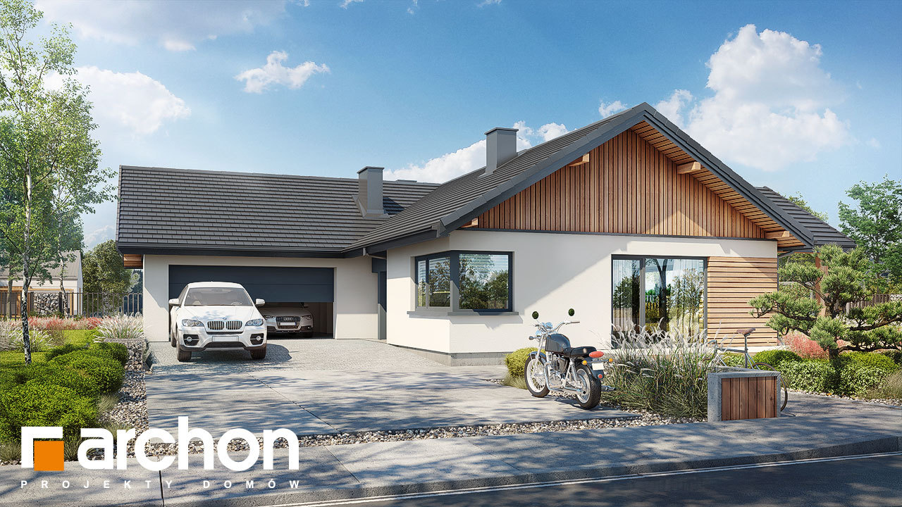 Проект будинку ARCHON+ Будинок в барбарисах 2 (Г2)