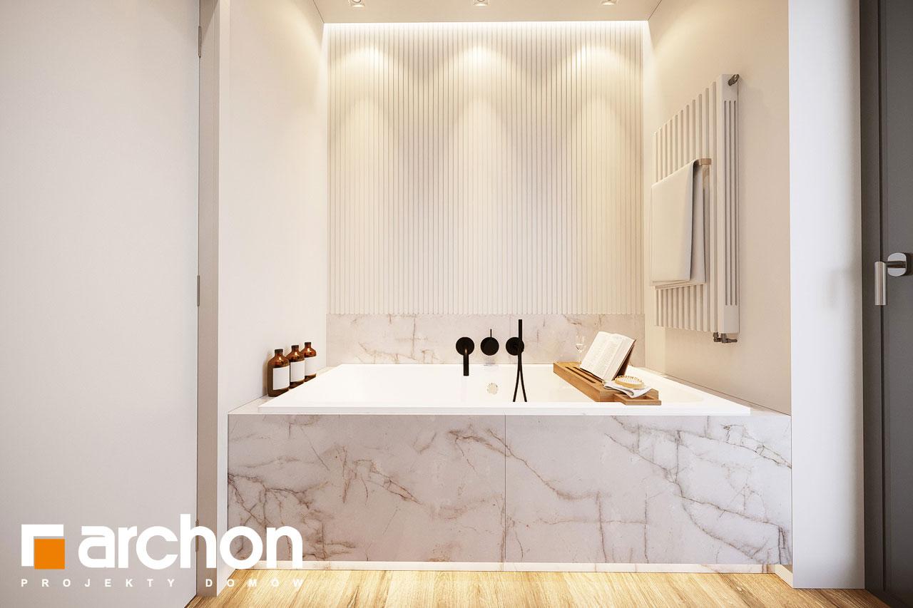 Проект будинку ARCHON+ Будинок в барбарисах 2 (Г2) візуалізація ванни (візуалізація 3 від 2)