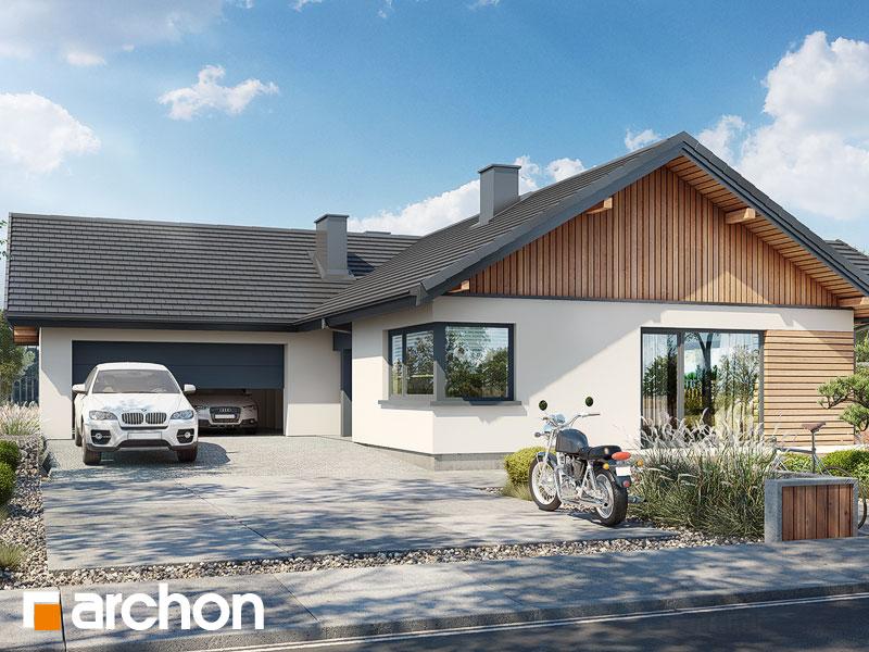 Проект будинку ARCHON+ Будинок в барбарисах 2 (Г2) Вид 1