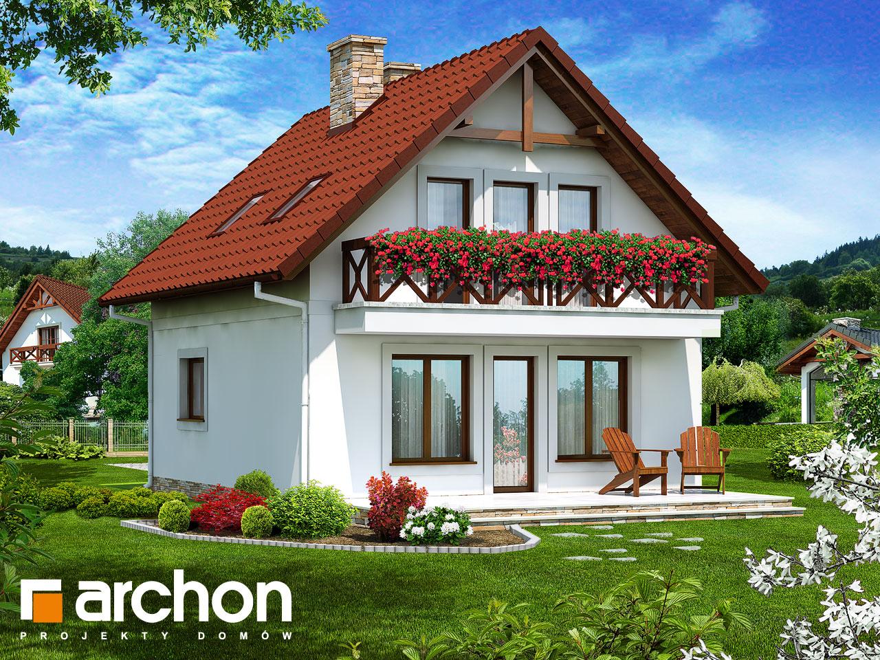 Проект будинку ARCHON+ Будинок у струмка Вид 2