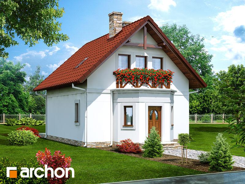 Проект будинку ARCHON+ Будинок у струмка Вид 1