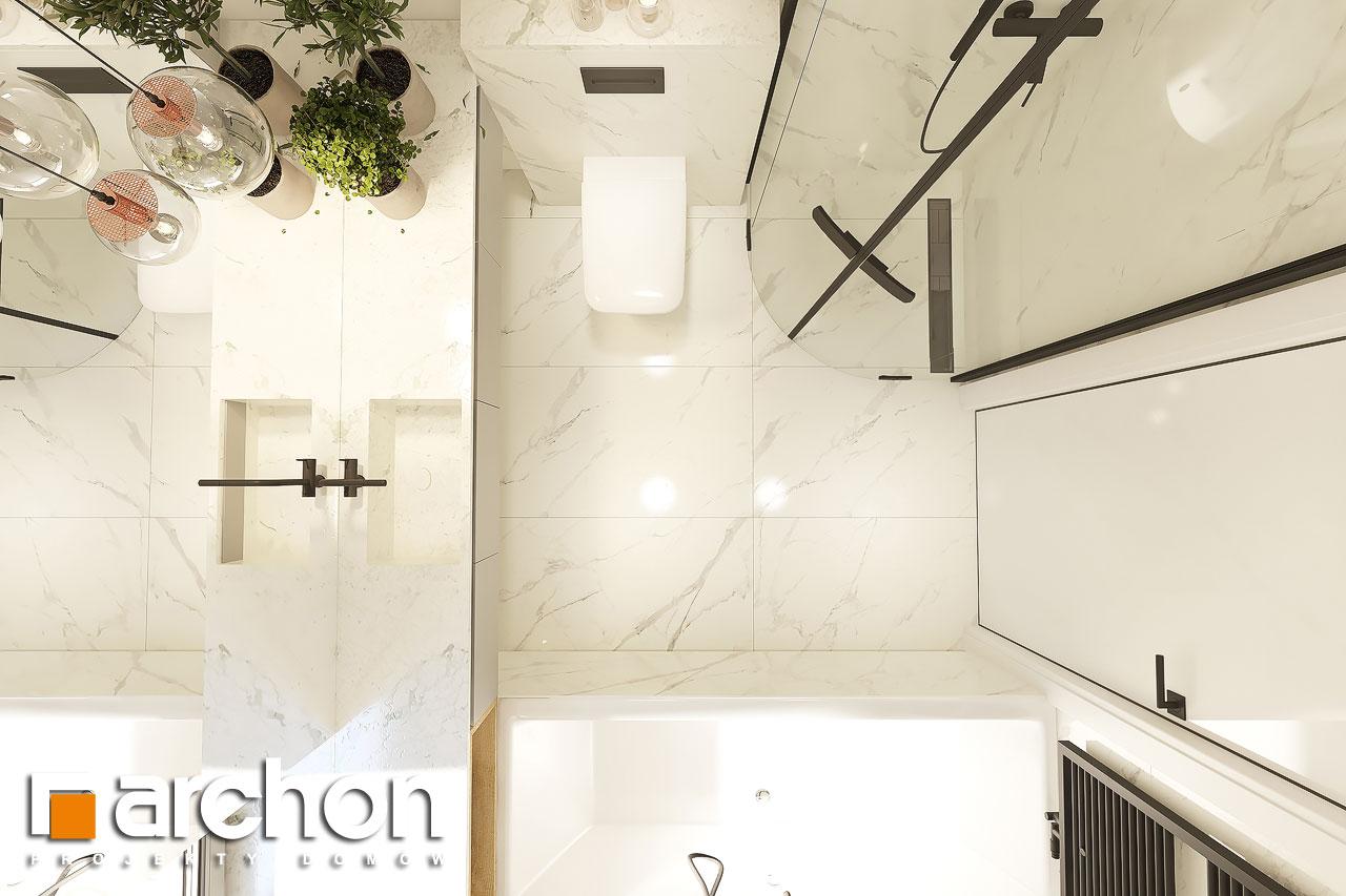 Проект будинку ARCHON+ Будинок в коручках 4 візуалізація ванни (візуалізація 3 від 5)