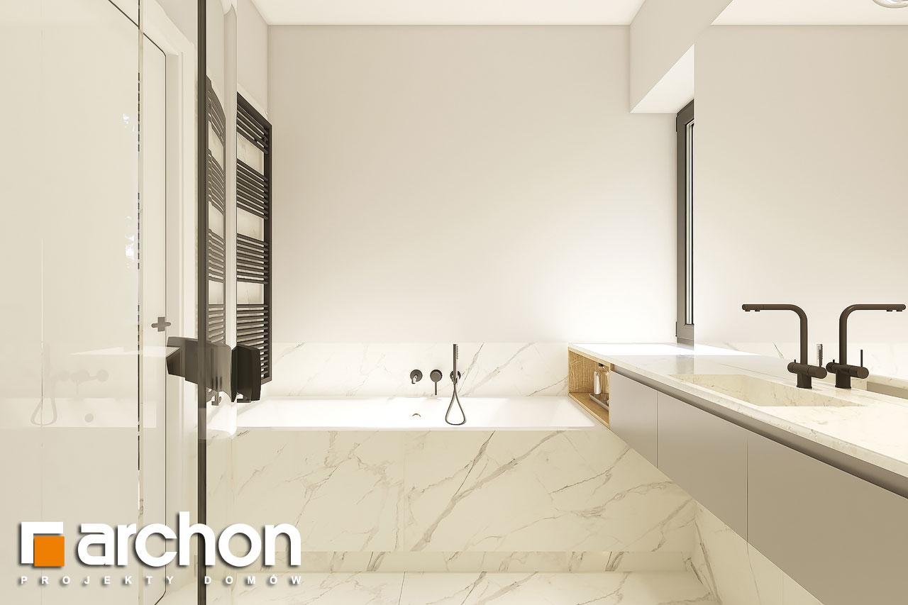 Проект дома ARCHON+ Дом в коручках 4 визуализация ванной (визуализация 3 вид 2)